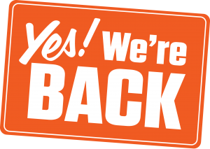 Yes, we're back!